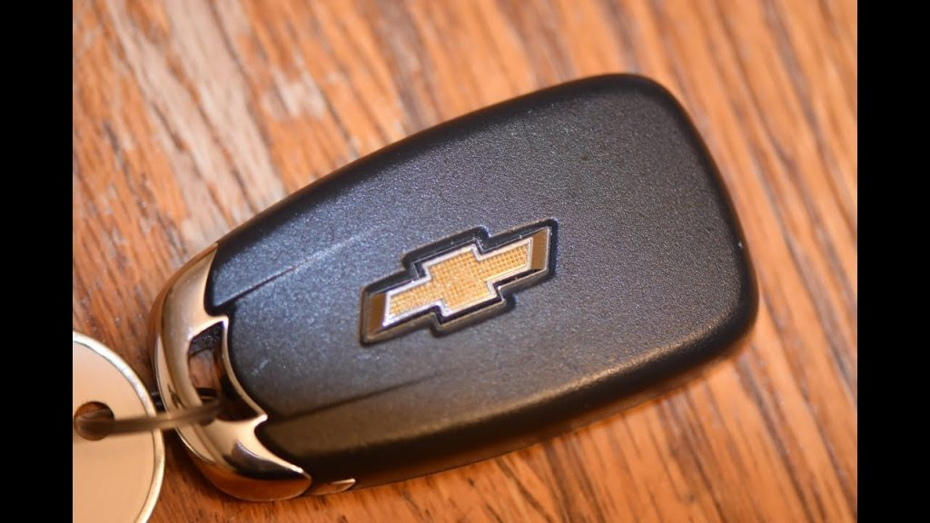chevy key fob
